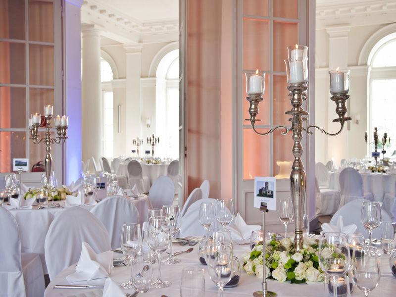 Beispiel: Gartensaal, Foto: Kurfürstliches Schloss Koblenz.