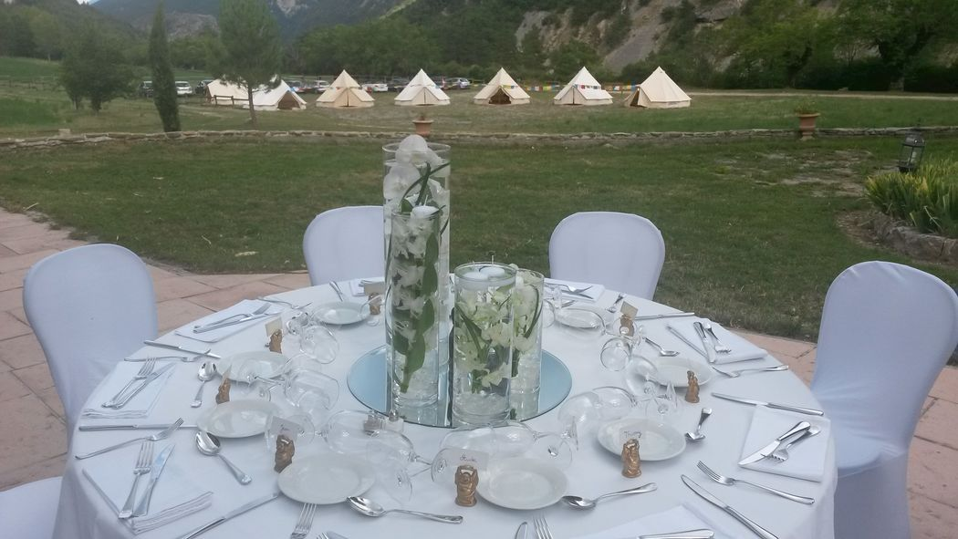 @ Agence Catherine Petitcuenot & Co Mariage thème zen et wedding camping