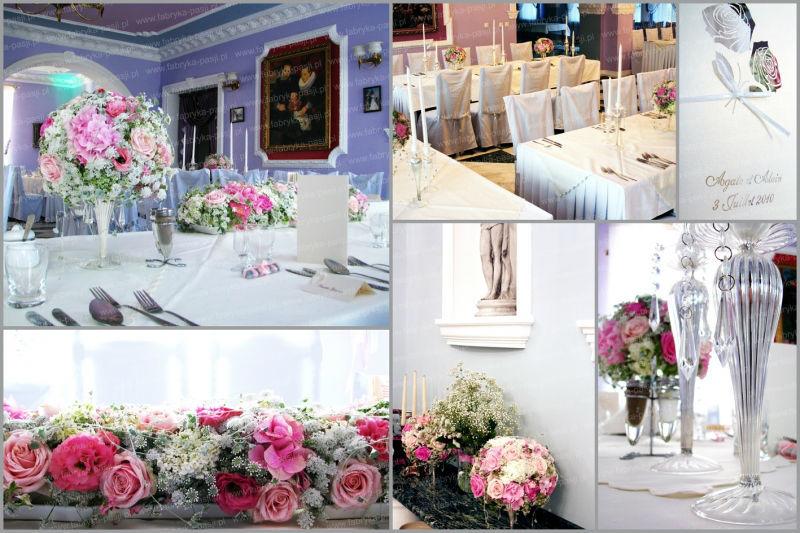 Dekoracje ślubne, Fabrica de Pasjone