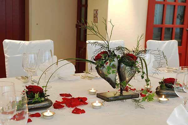 Beispiel: Tischdekoration, Foto: Restaurant Schäfli.