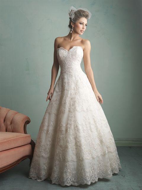 Marca: Allure Bridals. Modelo: 9156-espalda.