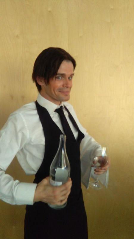 Mr.Milk - Espetáculos e Eventos  Alberto o empregado ...