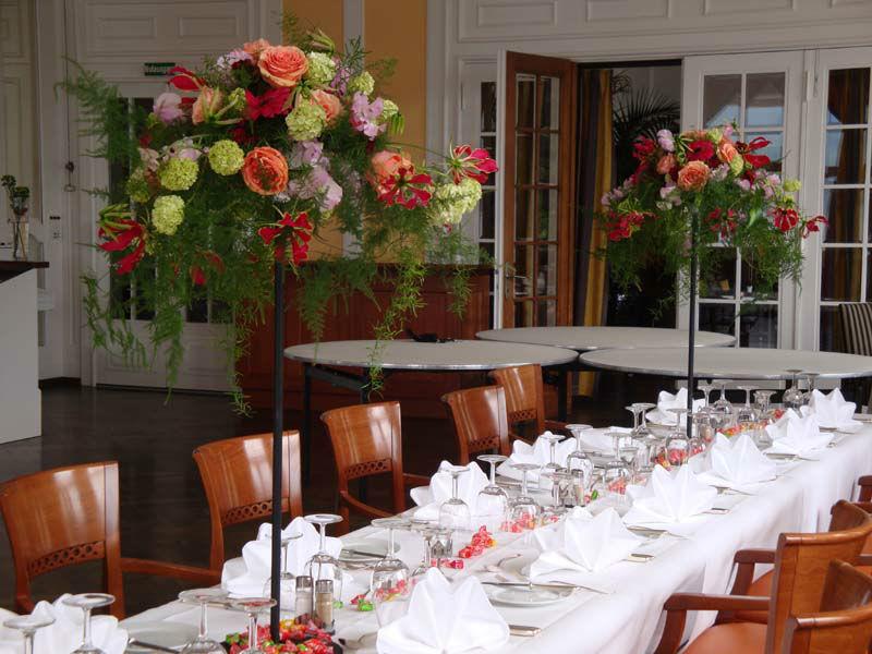 Beispiel: Tischdekoration, Foto: Blütenreich.