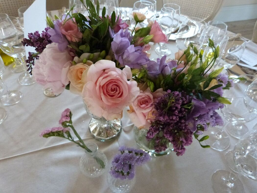 Centros de flores diseñados por BWE