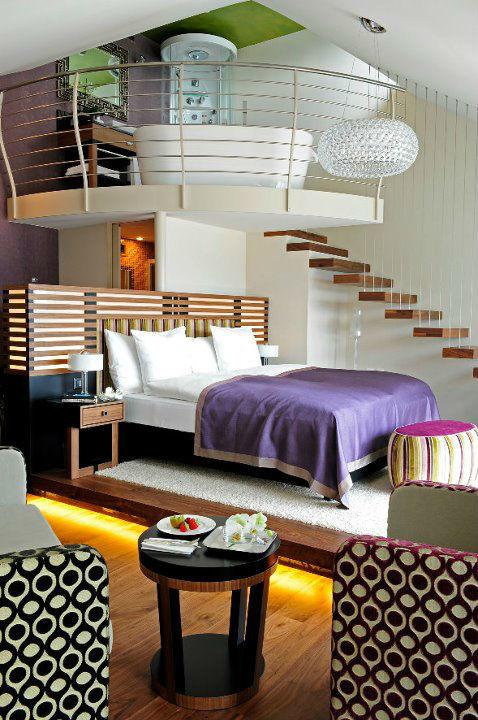 Beispiel: Hotelzimmer, Foto: Art Deco Hotel Montana.