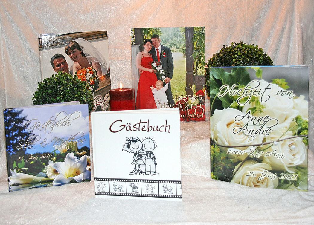 Gäste und Fotobücher Cela-Design