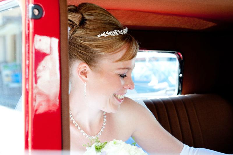 Beispiel: Hochzeitsreportage in Schwerin, Foto: Rea Papke Photography.