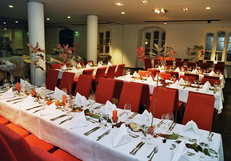 Beispiel: Veranstaltungsebene - Tafel, Foto: Altes Rathaus Hannover.