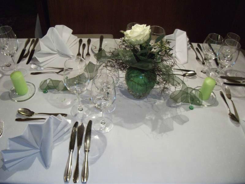 Beispiel: Tischgedeck, Foto: Ringhotel Zum Roten Bären.