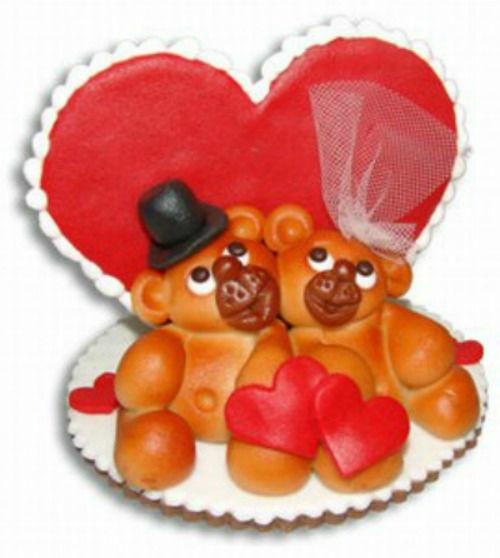 Beispiel: Love- Bärli, Foto: Confiserie Bachmann.