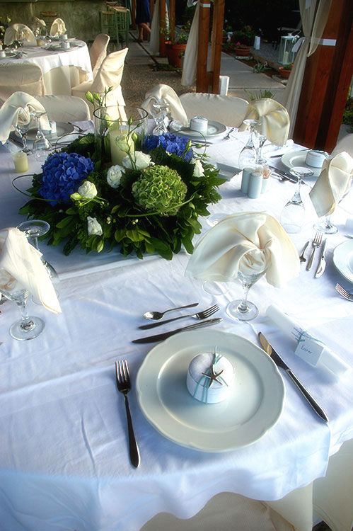 Beispiel: Tischdekoration, Foto: Jane4wedding.