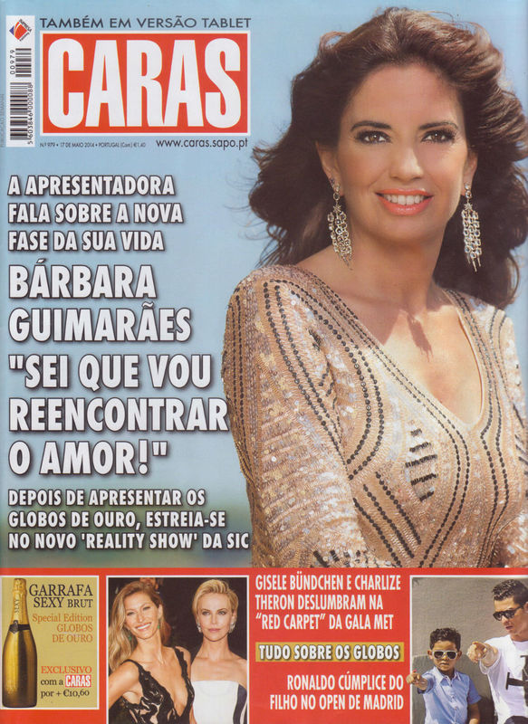 Bárbara Guimarães para Caras Lucília Lara- Make Up Foto: Mike