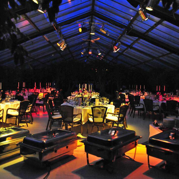 Beispiel: Mobiliar und Dekoration, Foto: Unikorn Catering & Events.