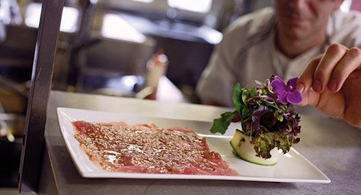 Beispiel: Gastronomie, Foto: Alte Rheinmühle.