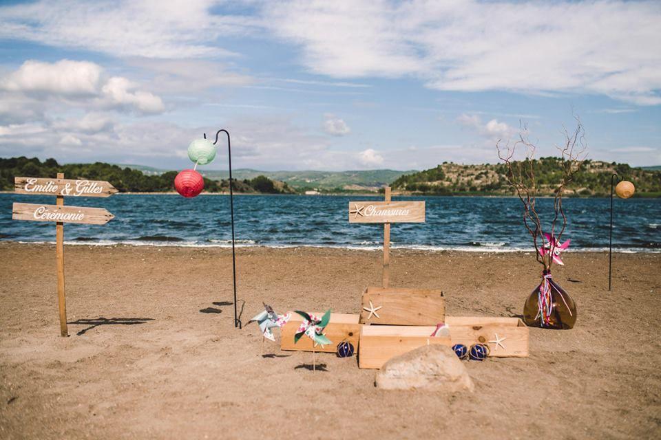 Céremonie Laïque en bord de plage et pieds nus! Photos : Angelo Lacancellera