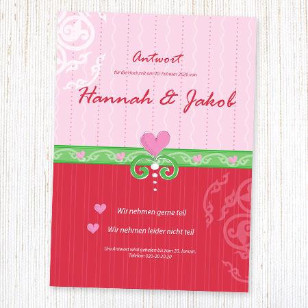 Karten für Ihre Hochzeit Foto: wunderkarten.de