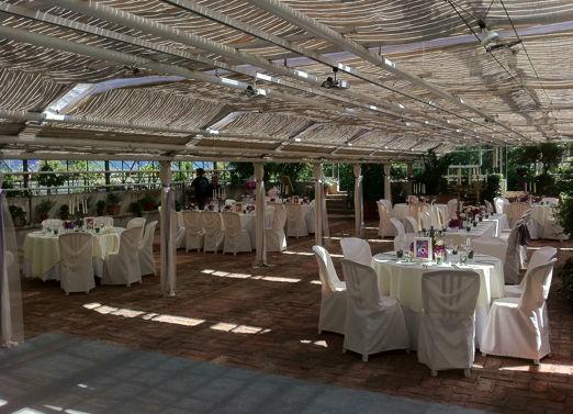 Beispiel: Hochzeitssaal, Foto: MS-Catering.