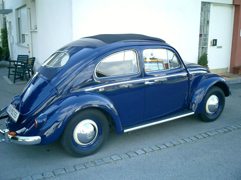Beispiel: VW Käfer, Foto: US-Car Friends Vorarlberg.