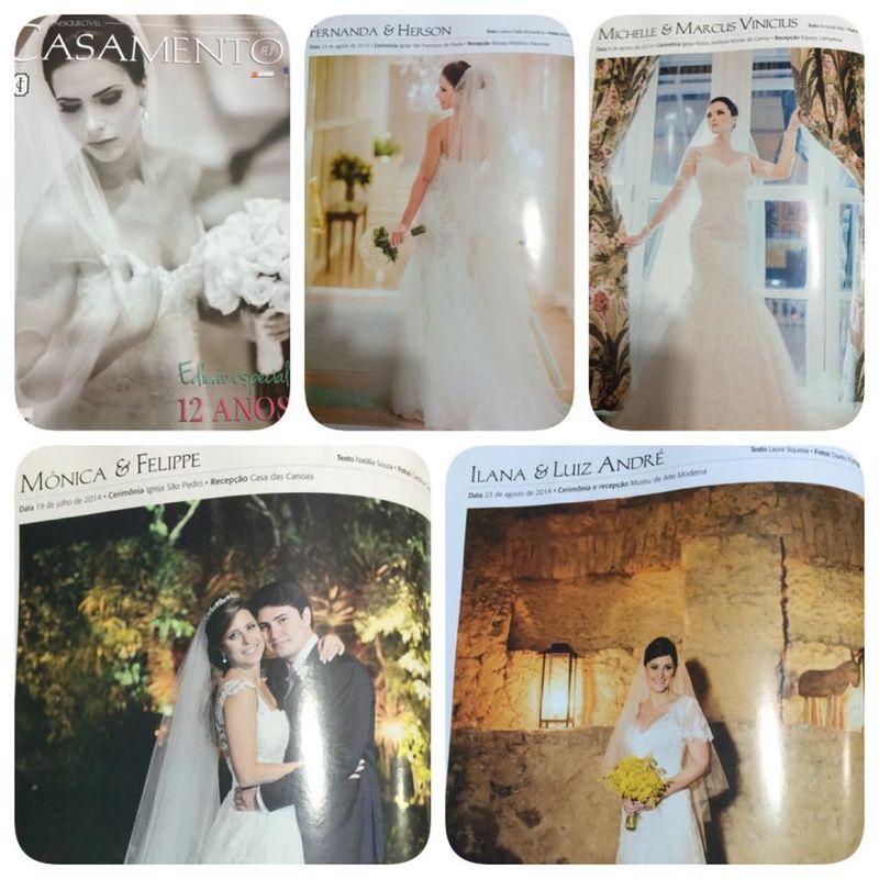 4 Casamentos publicados na edição de 12 anos da Inesquecível Casamento 2014