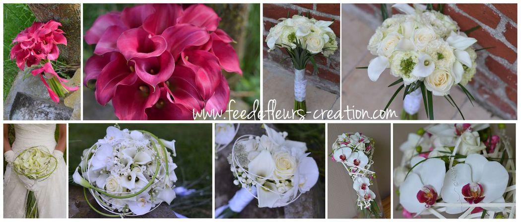 Déclinaison de bouquet élégant...