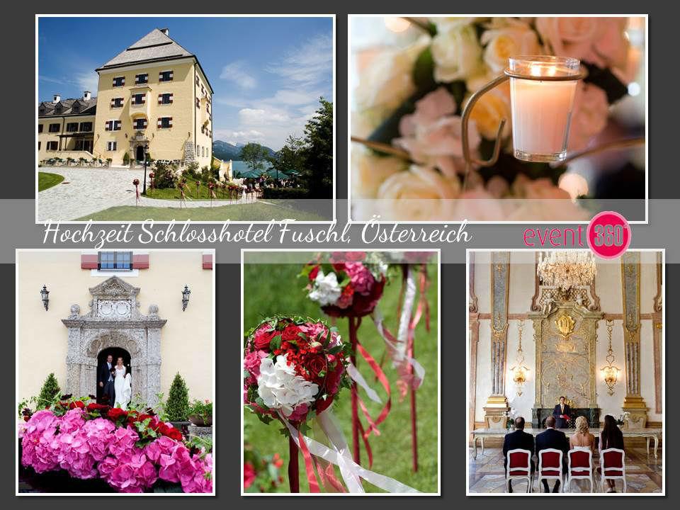 Beispiel: Hochzeit im Schlosshotel Fuchsl, Foto: event 360°.