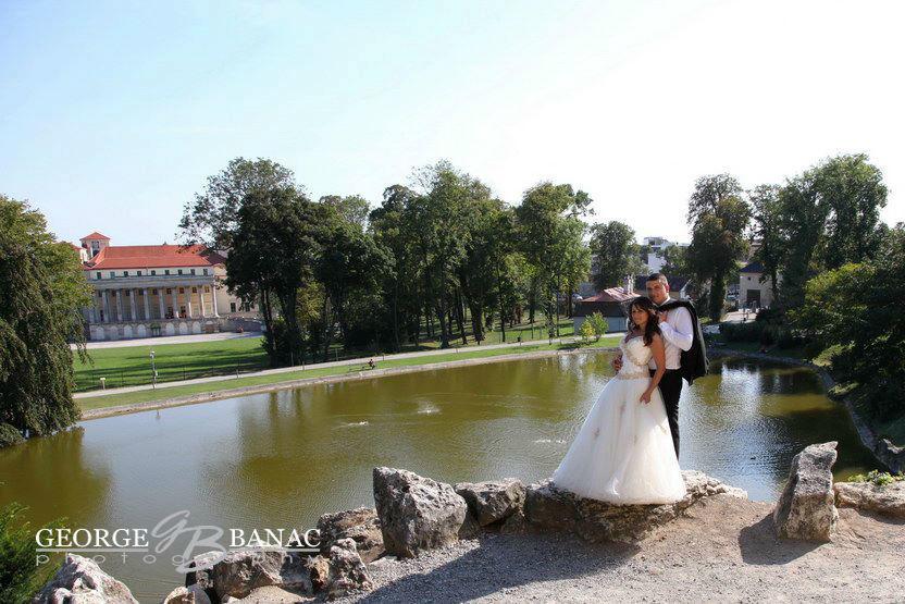 Beispiel: Portrait des Brautpaares, Foto: Studio Banac.