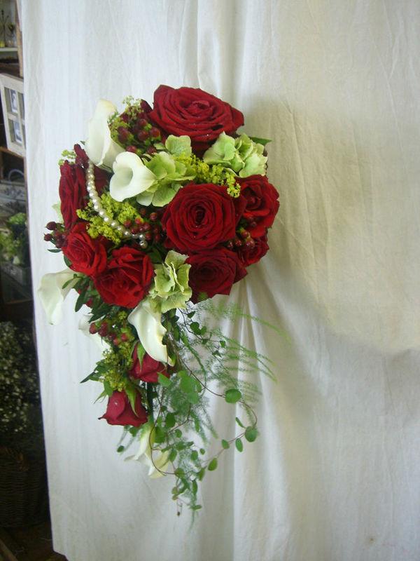 Beispiel: Der perfekte Brautstrauß, Foto: Blumen G. Bechstein.