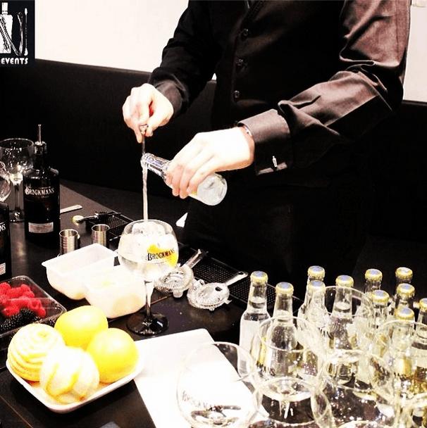 Barmans profesionales
