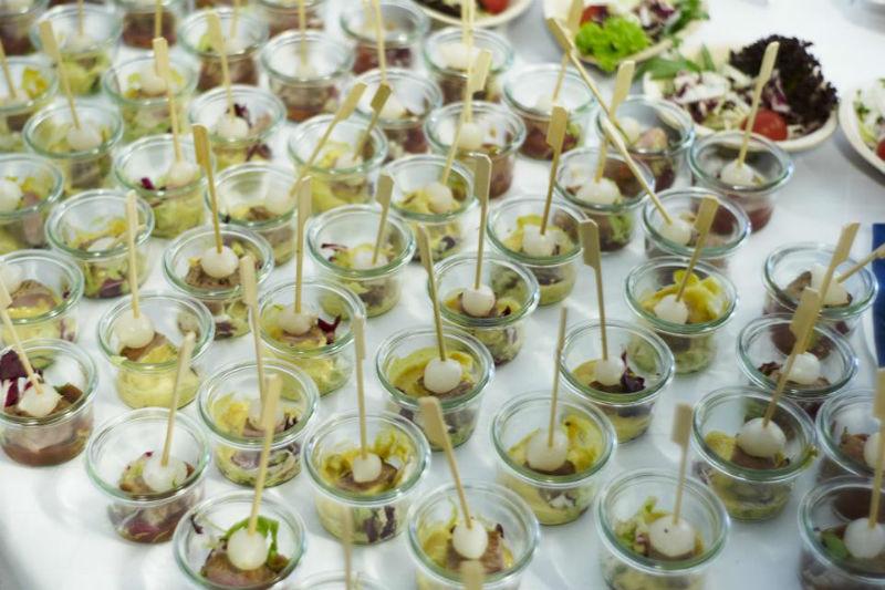 Beispiel: Leckere Gerichte für Ihr Hochzeitsmenü, Foto: Paiser Catering.
