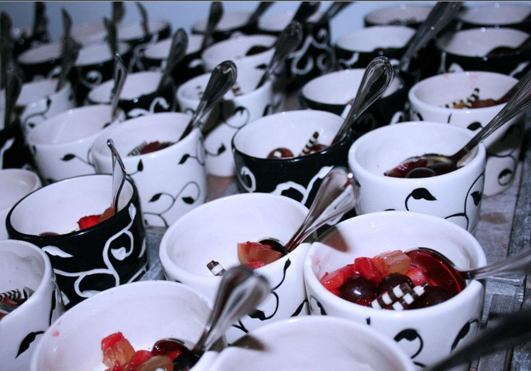 Beispiel: Nachtische, Foto: GLAD Catering&more.