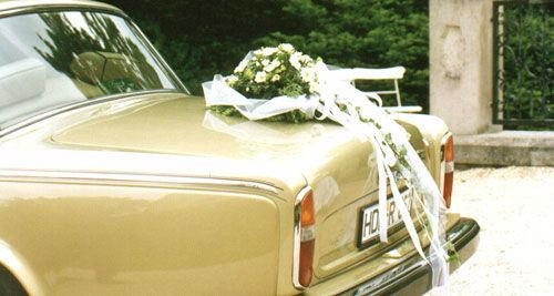 Beispiel: Ihr Hochzeitsauto, Foto: Classic Car Chauffeur Service.