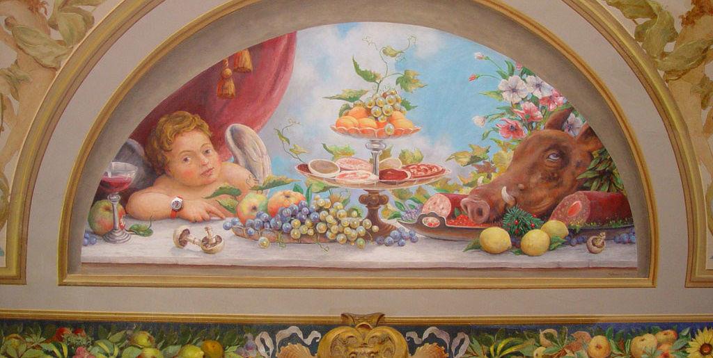 Beispiel: Impressionen des Restaurants, Foto: Löwen Meilen.
