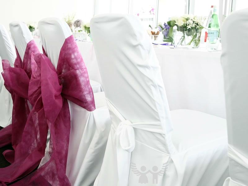 Beispiel: Dekoration und Organsation, Foto: Die Engel der Hochzeit.
