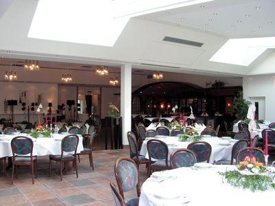 Beispiel: Kespelsaal, Foto: AKZENT Landgasthof Evering.
