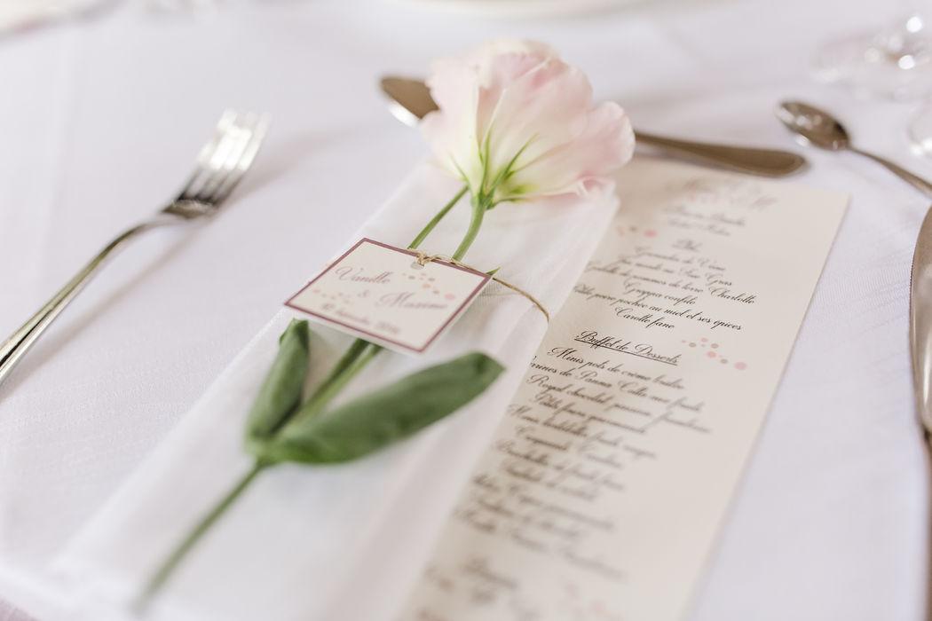 LADY NANNY Mariages _ Décoration sur-mesure des Tables de réception