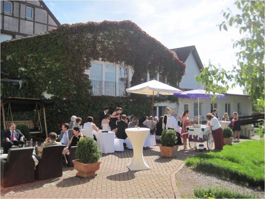 Beispiel: Terrasse, Foto: Hotel Antoniushütte.