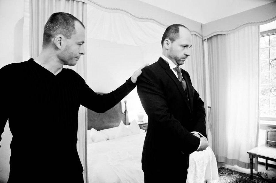 Hochzeit in Schloss Obermayrhofen. Beispiel: Fotos von den Vorbereitungen, Foto: myshoot.