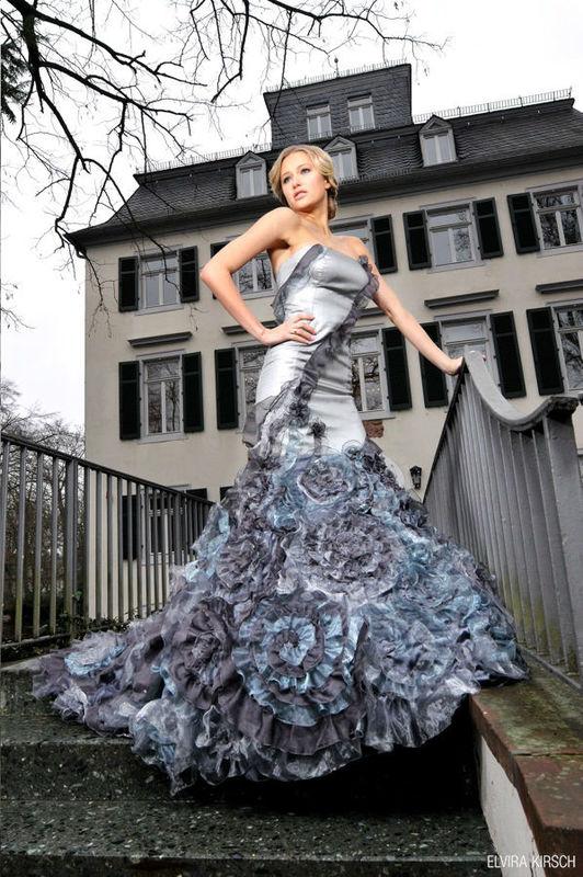 Beispiel: Mode die besticht, Foto: Elvira Kirsch.