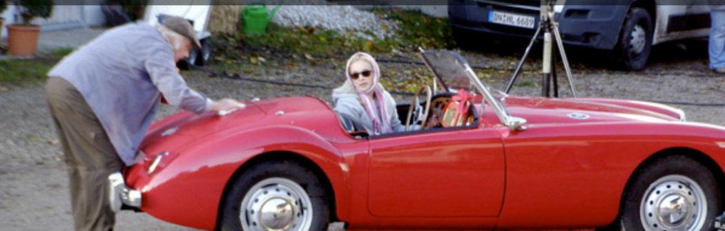Ihr Hochzeitsauto zum Selberfahren: MG A 1500 Foto: Classic Roadster München