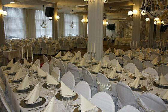 Beispiel: Saal 1 - Bankett, Foto: Eventoase Schützenhaus.