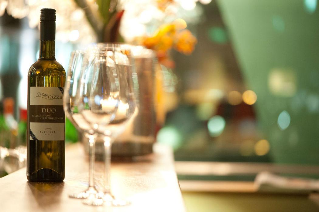 Beispiel: Wein des Hauses, Foto: Mainnizza.