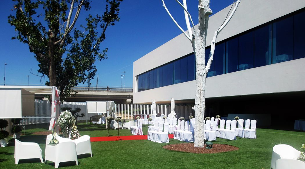 Jardín con Ceremonia Civil