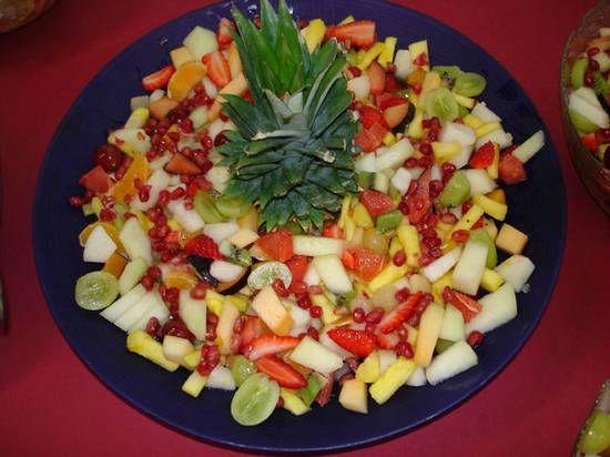 Beispiel: Optisch ansprechende Präsentation der Speisen, Foto: Dwenger Catering & Events.