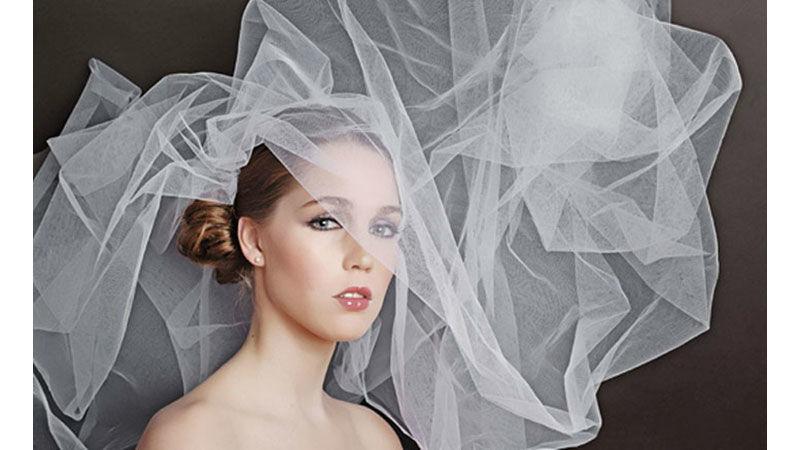 Beispiel: Das Styling für die Braut, Foto: brautstyling-hamburg.de.