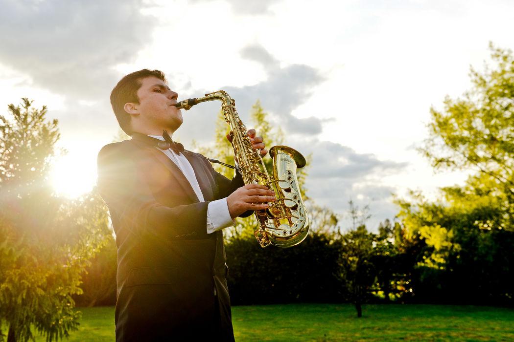 Show de saxofón
