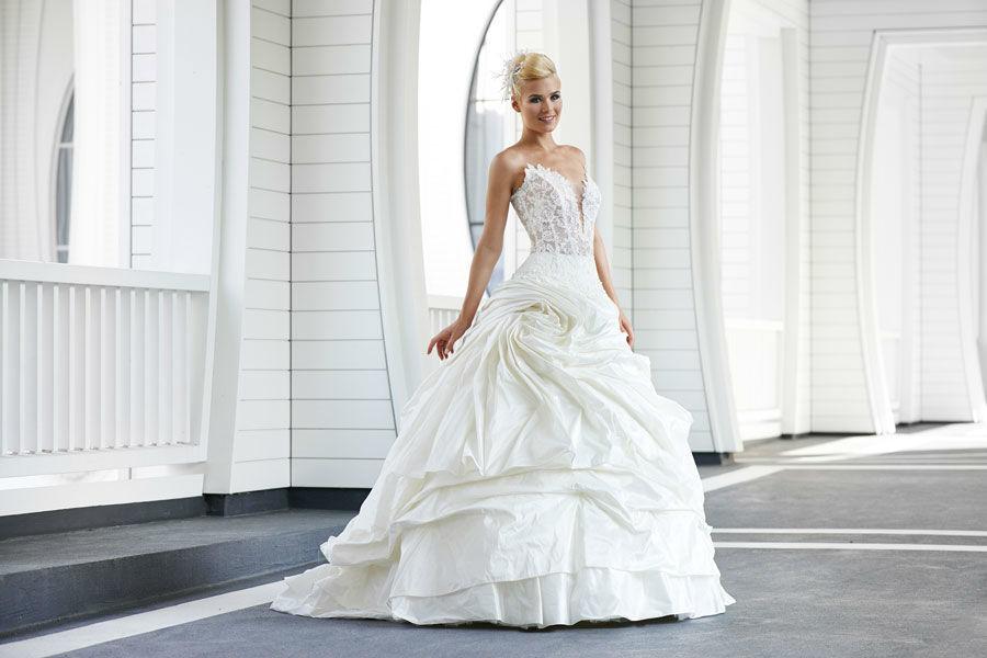 Beispiel: Brautkleider für jeden Geschmack, Foto: Mery's Couture Aarau.