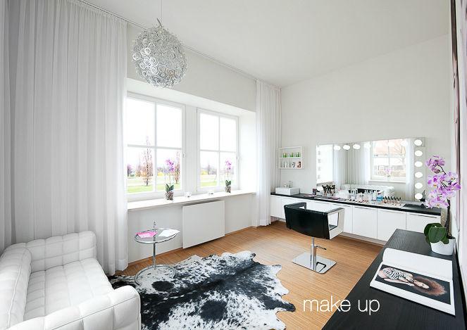 Beispiel: Studio in Ostfildern, Foto: Alba Make Up.