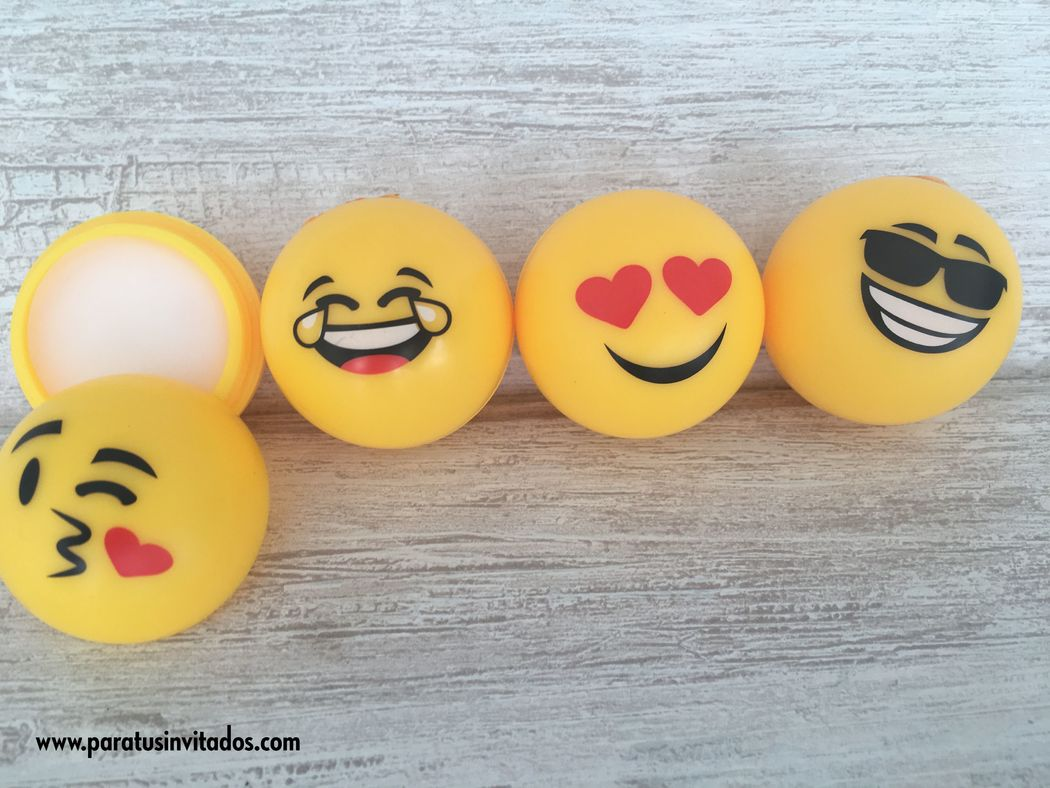 Bálsamo labial emoticono