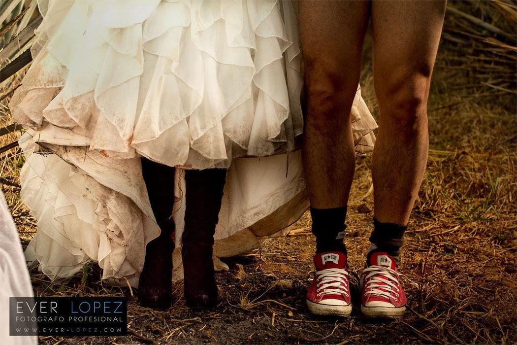 Trash the dress boda Guadalajara Jalisco Mexico por fotografo profesional de bodas Ever Lopez  Fotografia creativa de bodas en Mexico