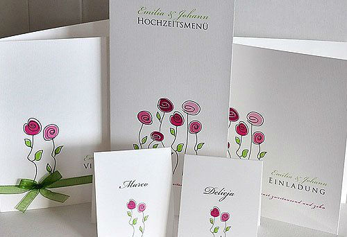 Beispiel: Verschiedene Kartensets, Foto: BBFT-Atelier Manufaktur.